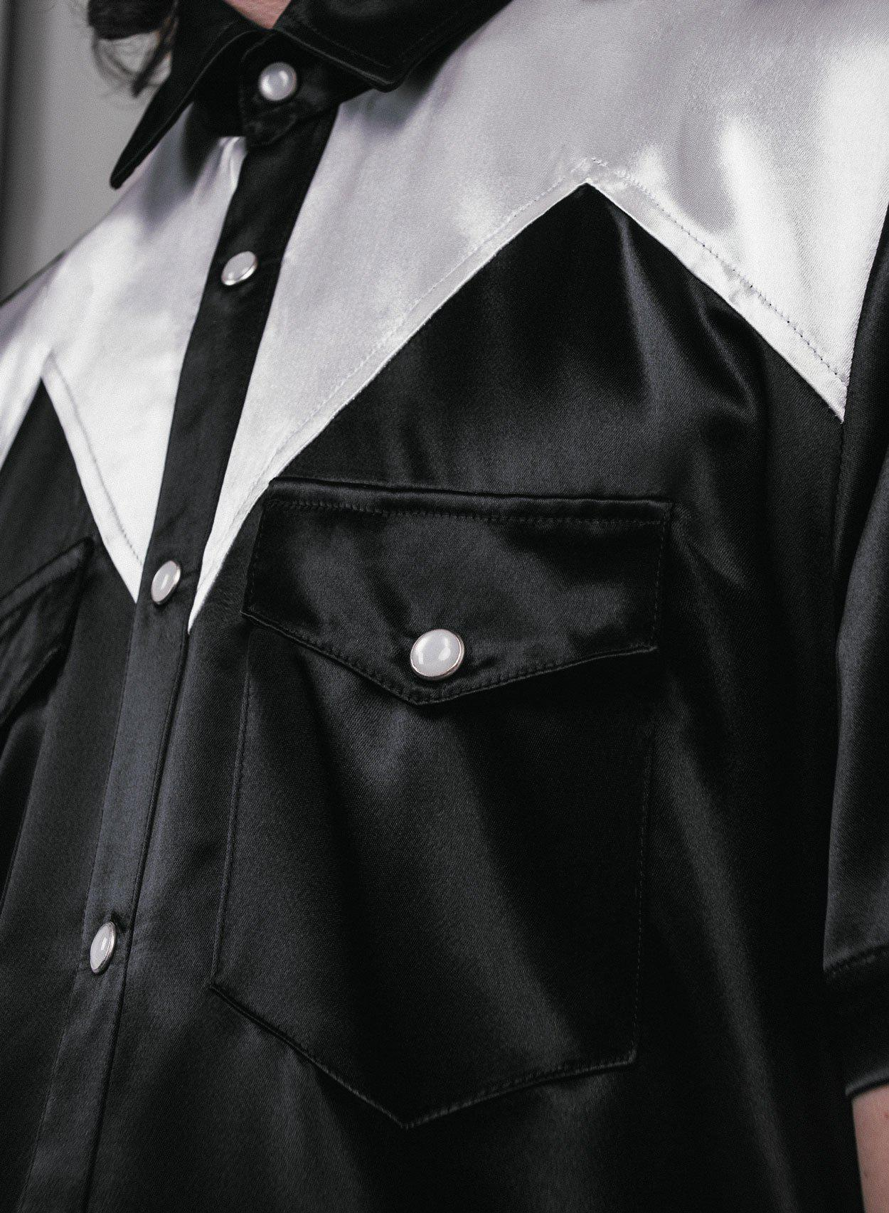 Kansas Satin Shirt-PhixClothing.com