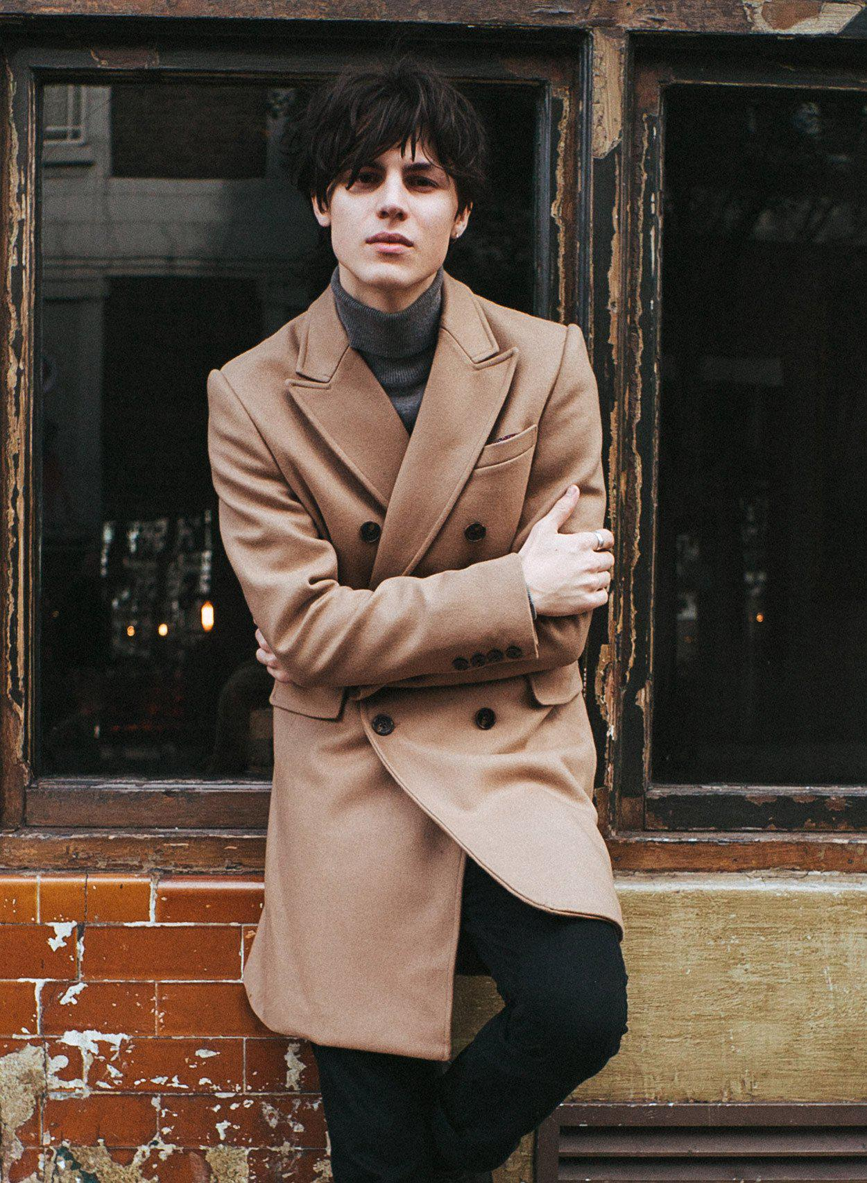 Kensington Wool Coat-PhixClothing.com