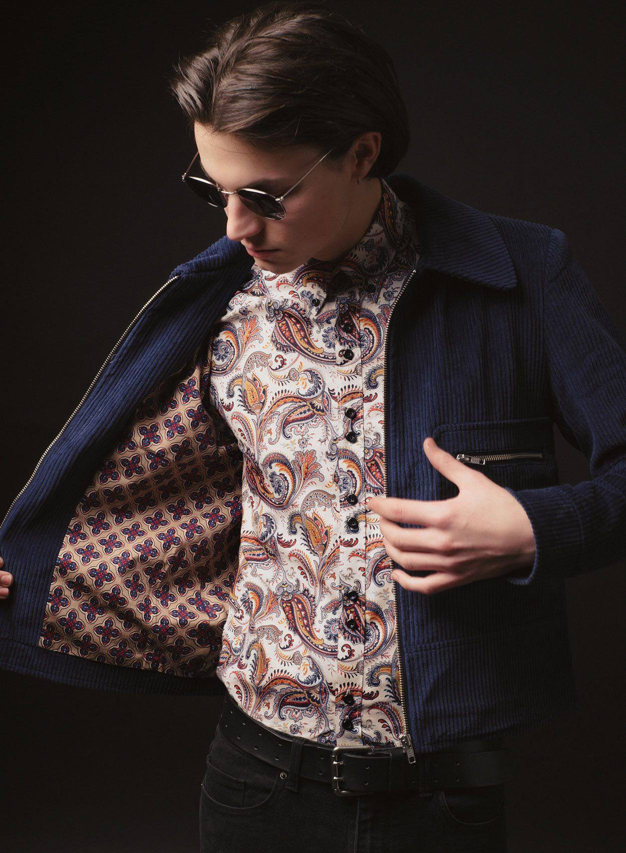The Daltry Paisley Shirt-PhixClothing.com