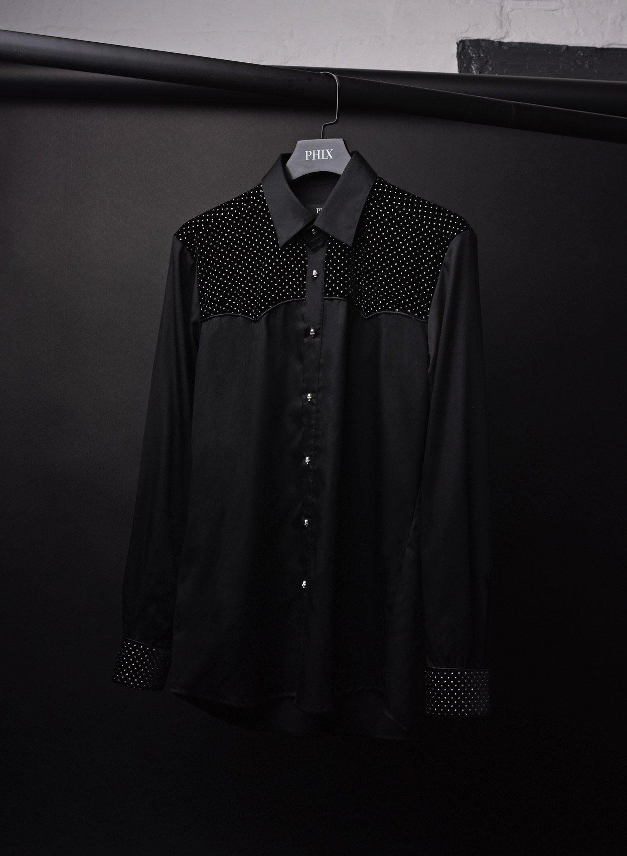 Bonham Skull Button Shirt-PhixClothing.com