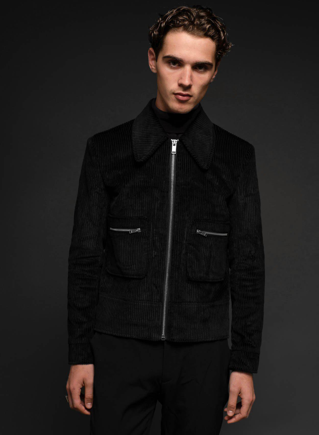 1969 Black Cord Jacket-PhixClothing.com