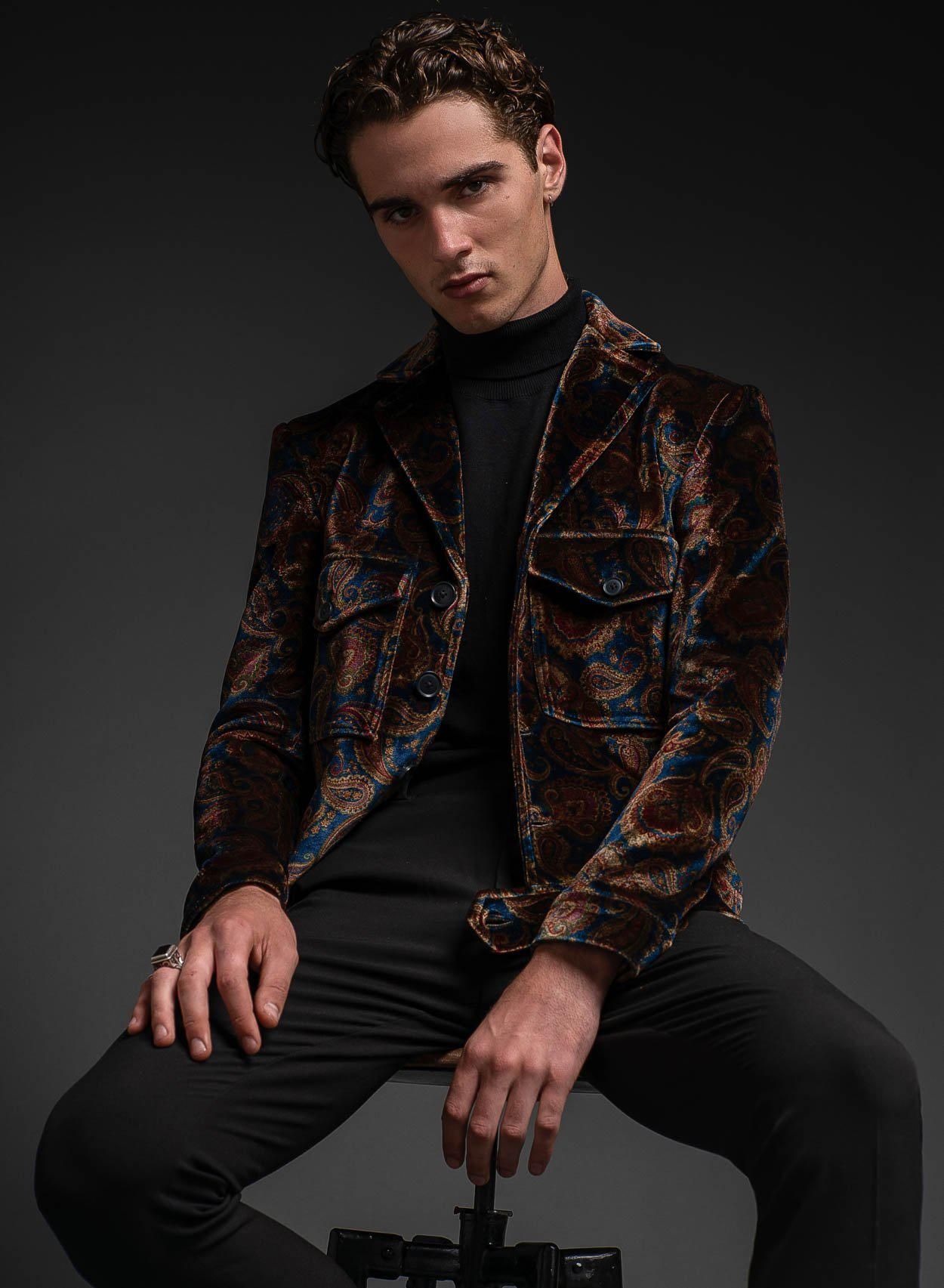 Marriott Velvet Jacket-PhixClothing.com
