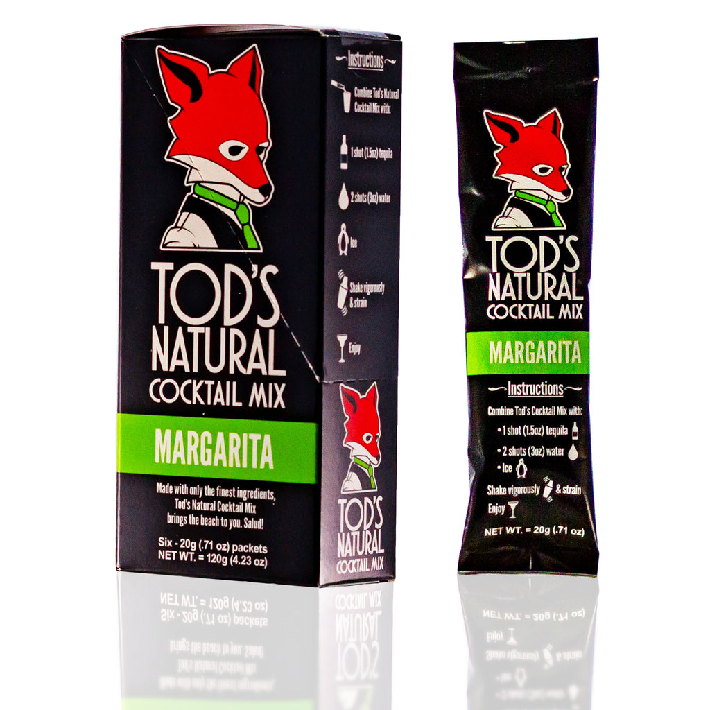 Tod's All Natural Cocktail Mix - Margarita (6-pack)