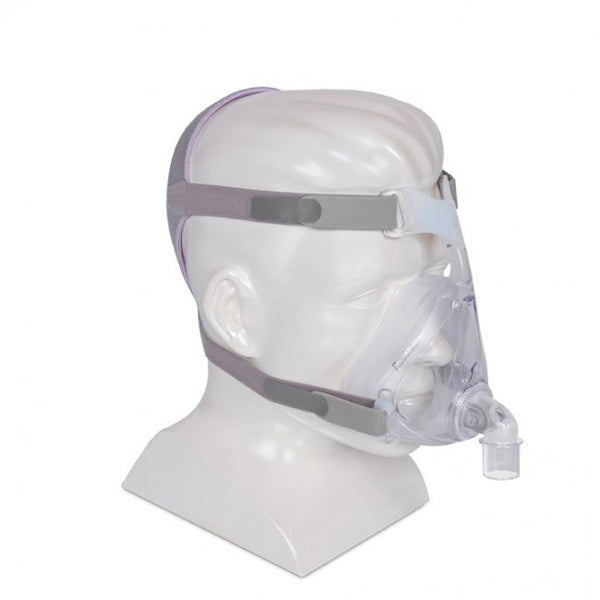 ResMed Quattro Air for Her Full Face CPAP Mask and Headgear