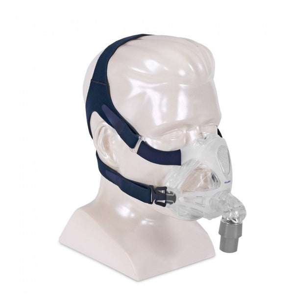ResMed Quattro FX Full Face CPAP Mask and Headgear