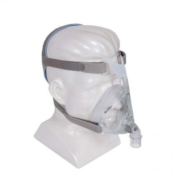 ResMed Quattro Air Full Face CPAP Mask and Headgear