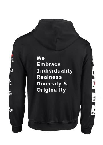 No Hate - We Embrace Unisex Sweatshirt/Hoodie