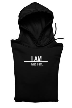 Customized I AM Sweatshirt-Black