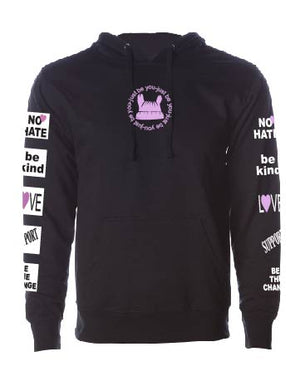No Hate - We Embrace Purple - Unisex Sweatshirt/Hoodie