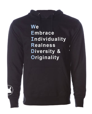 We Embrace Unisex Sweatshirt/Hoodie-Blue