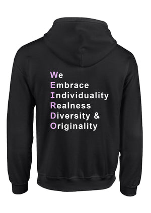 We Embrace Unisex Sweatshirt/Hoodie-Purple