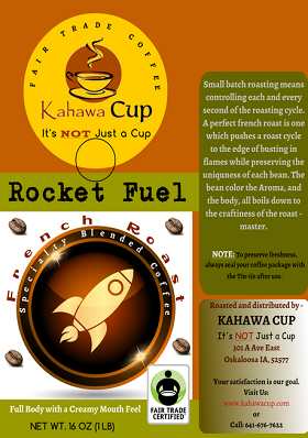 Rocket Fuel (French Roast) - Fair Trade