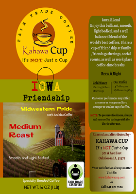 Iowa Friendship Blend - FairTrade