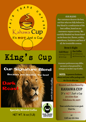 King's Cup-Dark Roast (FairTrade)