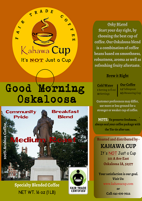 Good Morning Oskaloosa - FairTrade