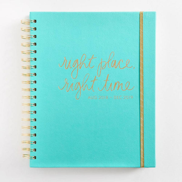 2018-2019 17 Month Right Place, Right Time Planner