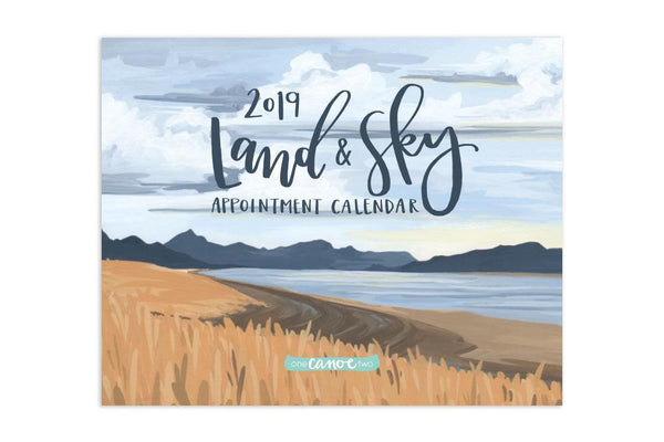 2019 Land, Sea & Sky Appointment Calendar