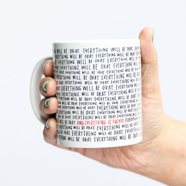 Emily McDowell Coffee Mugs | Everything Will Be Okay