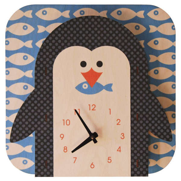 Modern Moose Basic Clocks | Penguin