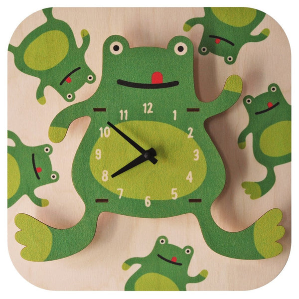 Modern Moose Basic Clocks | Frog