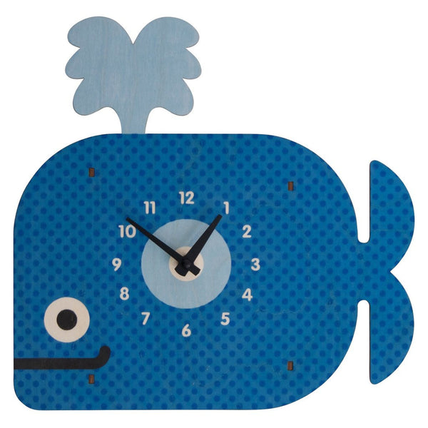 Modern Moose Basic Clocks | Whale