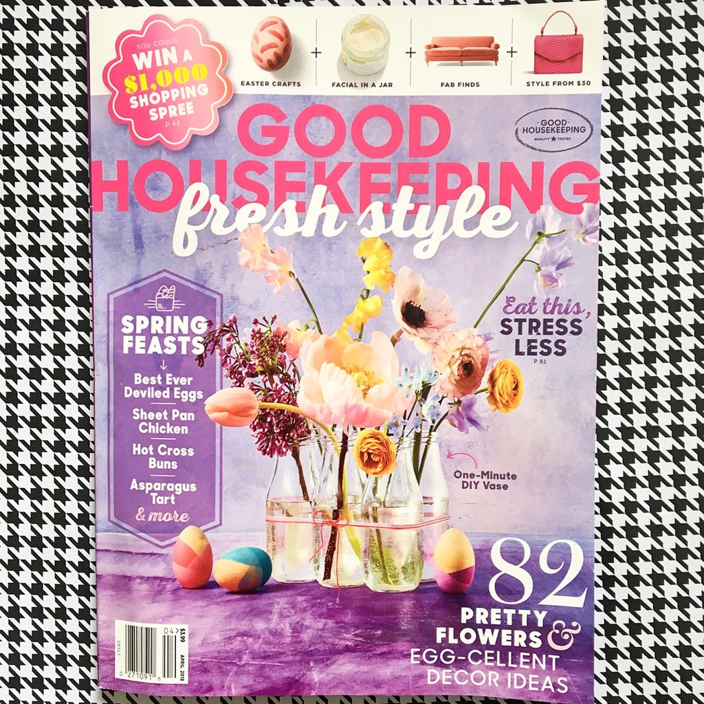 April Good Housekeeping Issue