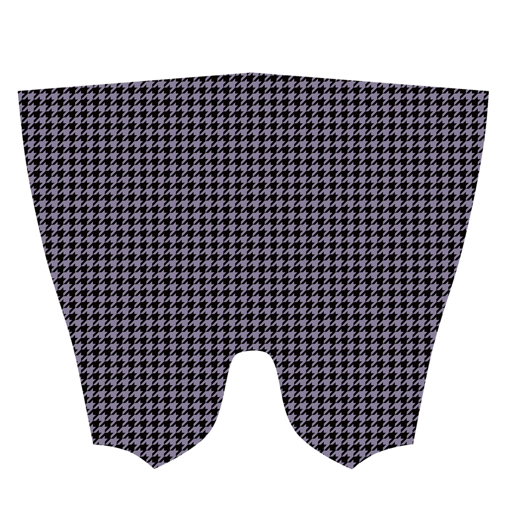 Purple Houndstooth