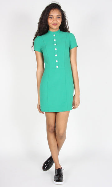 Apalis Dress - Sea Green