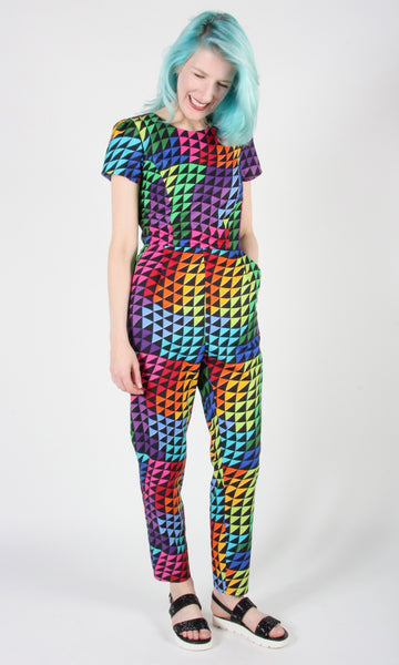 Auk Jumpsuit - Prismatic