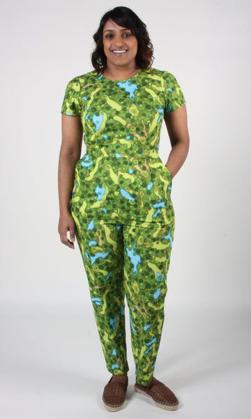 Auk Jumpsuit - Golf