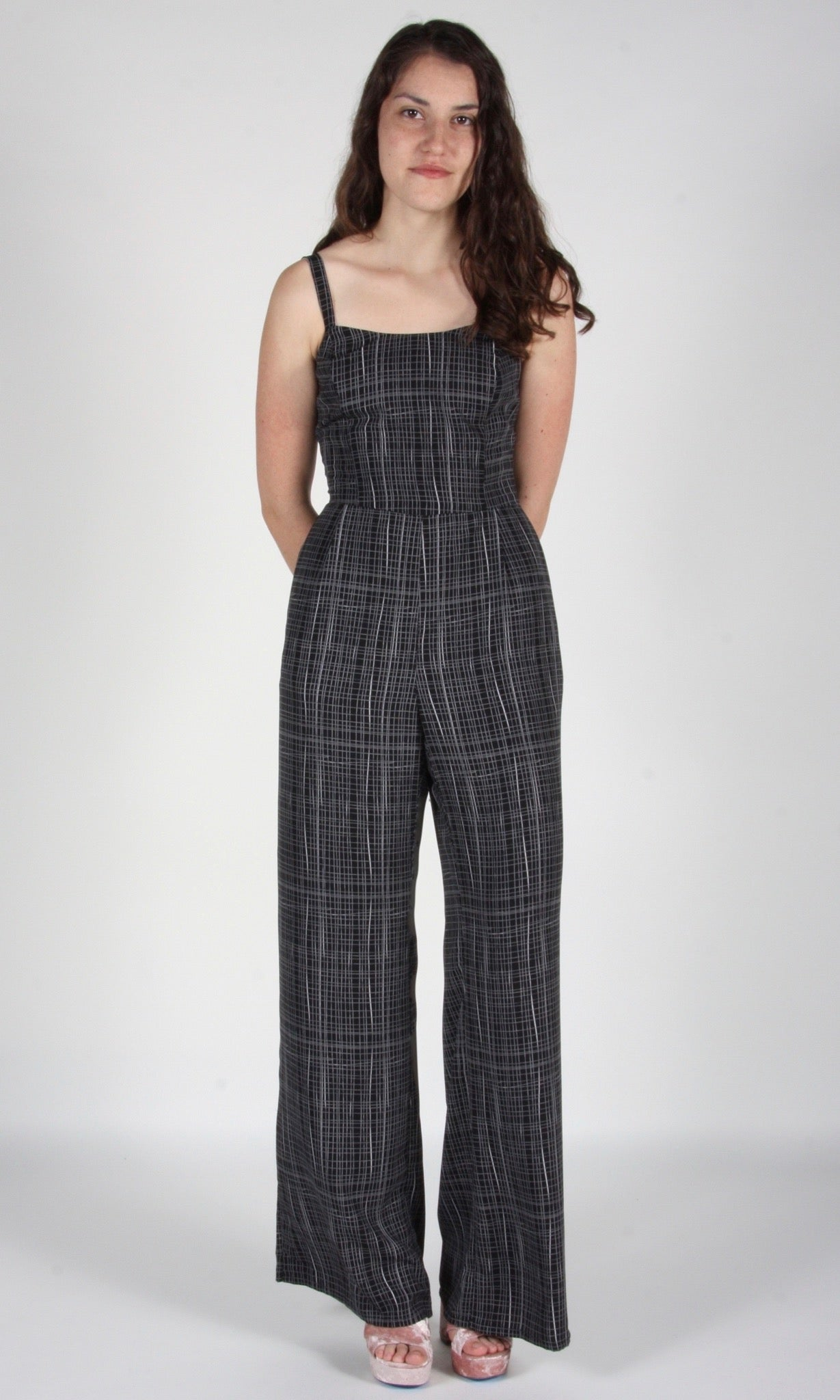 Auklet Jumpsuit - Black Screen