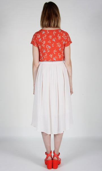 Barbtail Skirt - Ivory