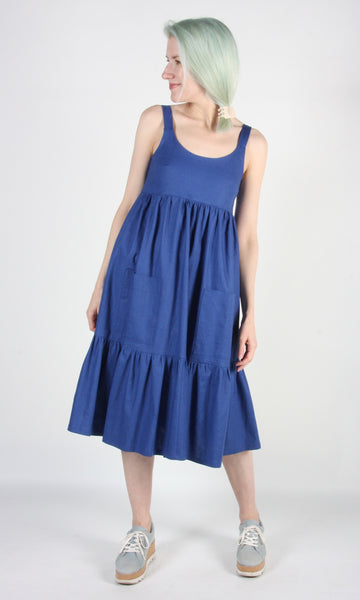 Bergeronette Dress - Ultramarine