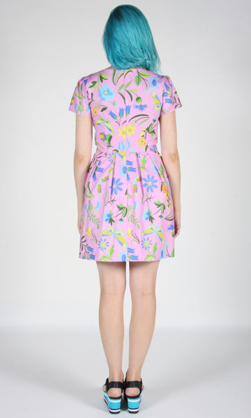 Bobolink Dress - Pink Meadow