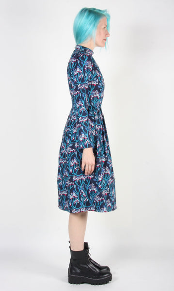Bruant Dress - Moon Flowers