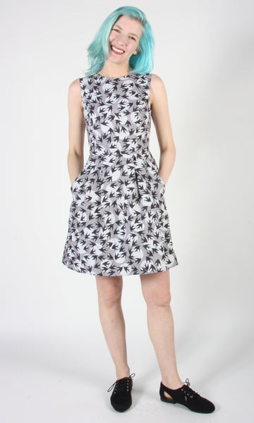 Bulbul Dress - Swallow Moon