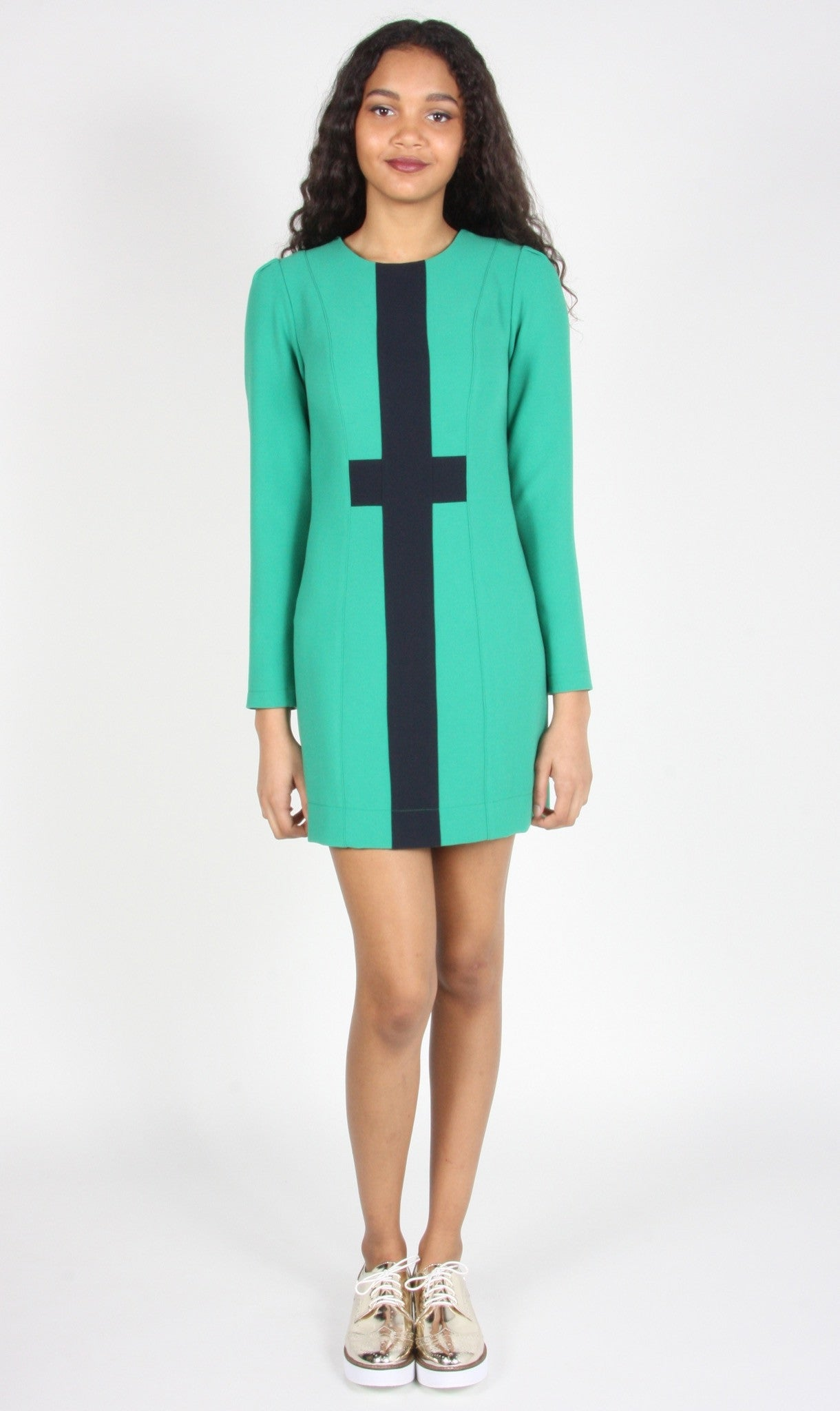 Caracara Dress - Sea Green