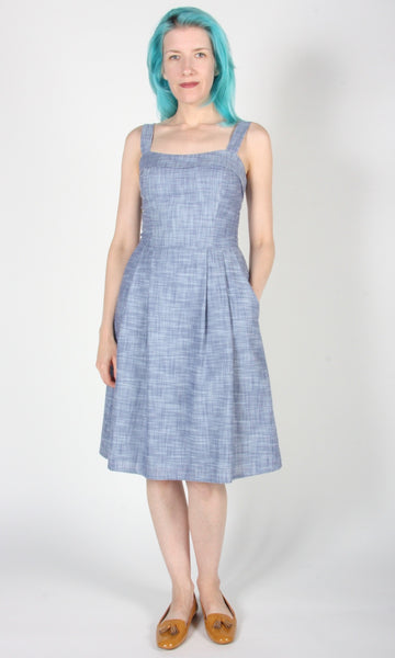Courlis - Blue Chambray