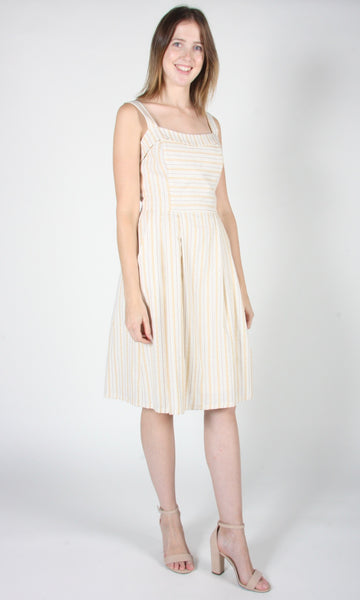 Courlis - Ivory Stripe