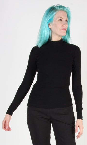 Bluethroat Top - Black