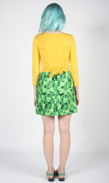 Échasse Skirt - Philodendron