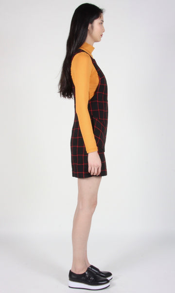 Curlew Tunic - Black/Red