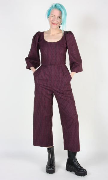Dickcissel Jumpsuit - Shadow Plum