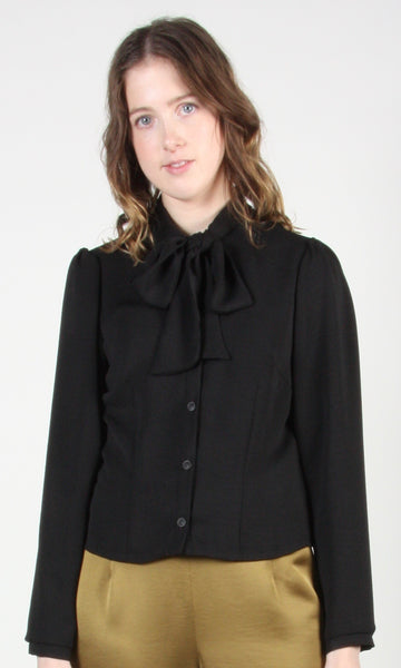 Dotterel Blouse - Black