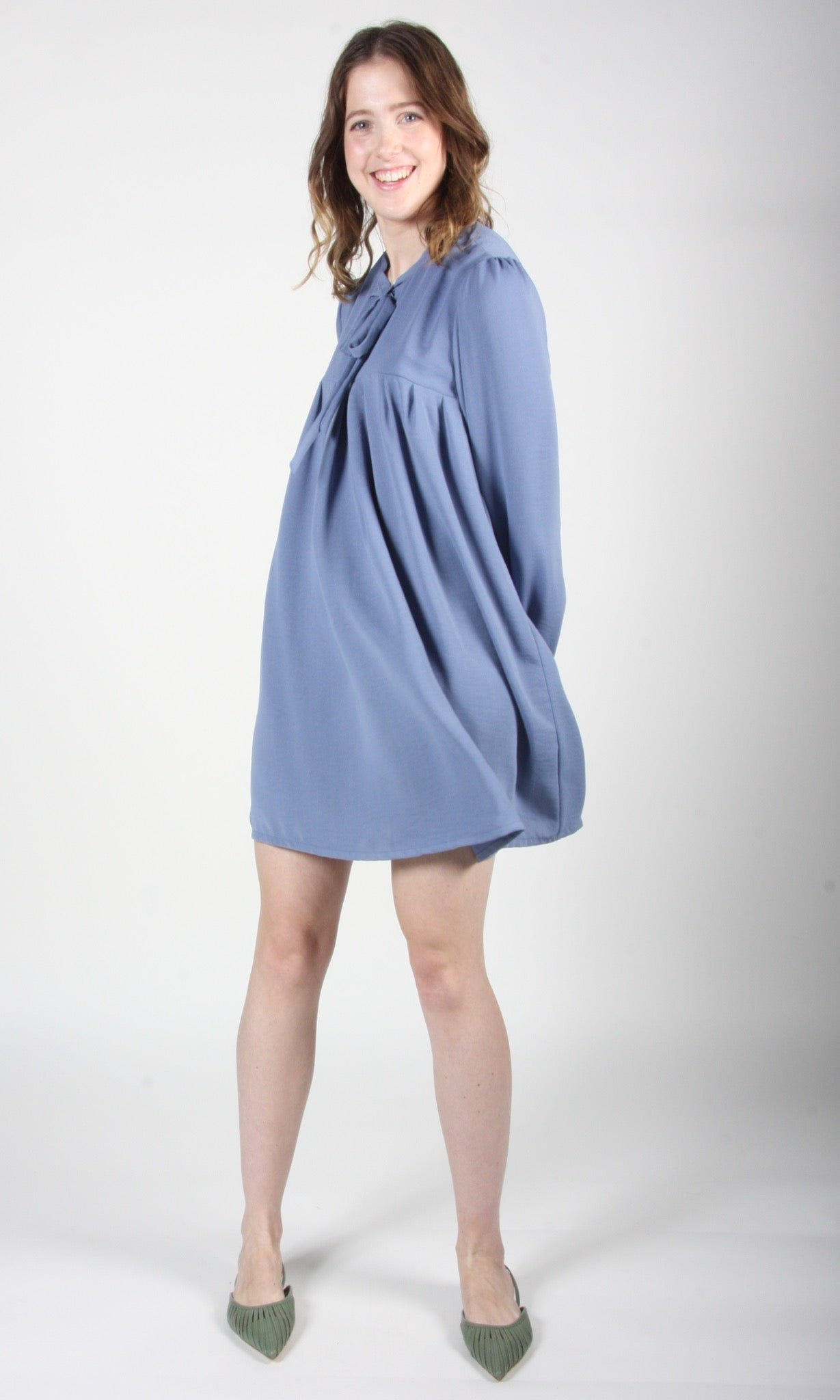 Duck Dress - Periwinkle