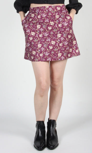 Échasse Skirt - Purple Posy