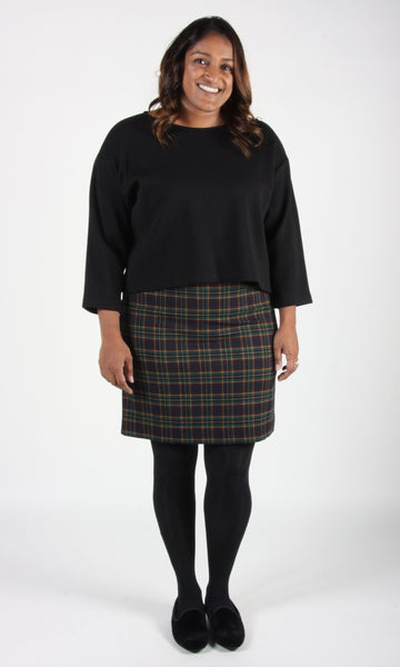 Elepaio Skirt - Plaid