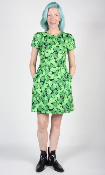 Engoulevent Dress - Philodendron