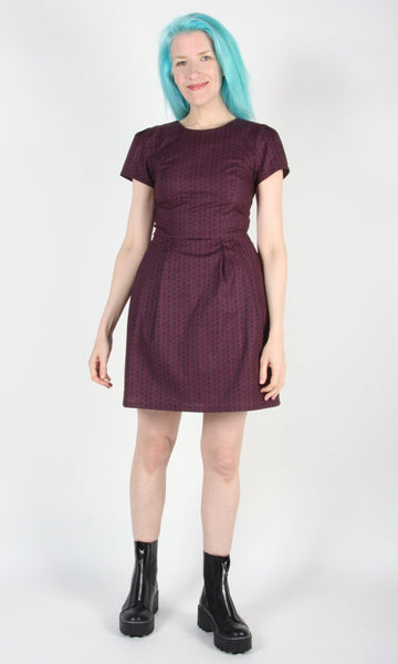 Engoulevent Dress - Shadow Plum