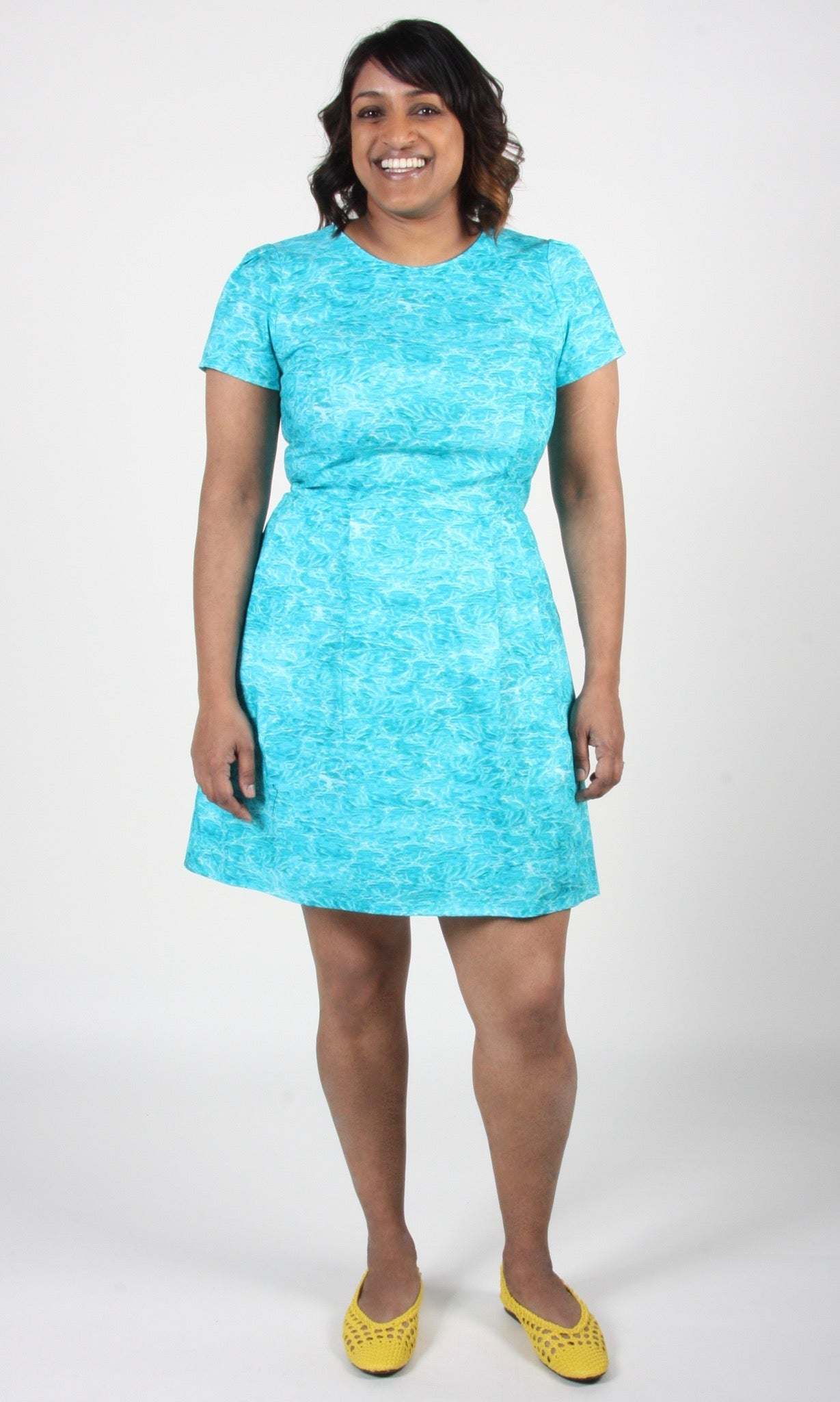 Engoulevent Dress - H2O